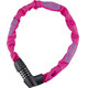 ABUS Tresor 1385/75 Cykellås pink